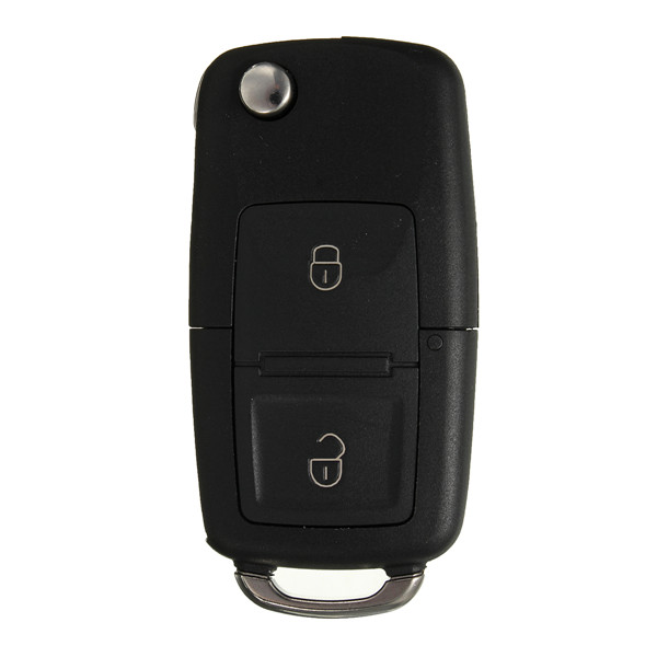 2 Button Flip Remote Key Case Car Shell With Screwdriver For VW