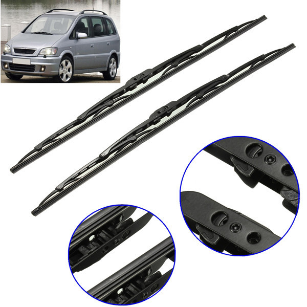 24 Inch  Front Windows Wiper Blades Windscreen For VAUXHALL ZAFI