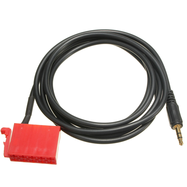 3.5mm Male Plug 140mm Cable Aux Line In Adapter Cable Radio for
