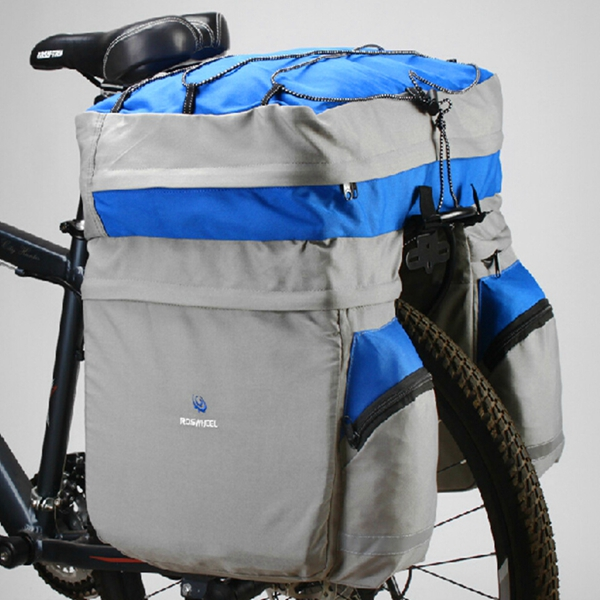 Large Triple Rear Pannier Luggage Bag&Waterproof Cover For ROSWH