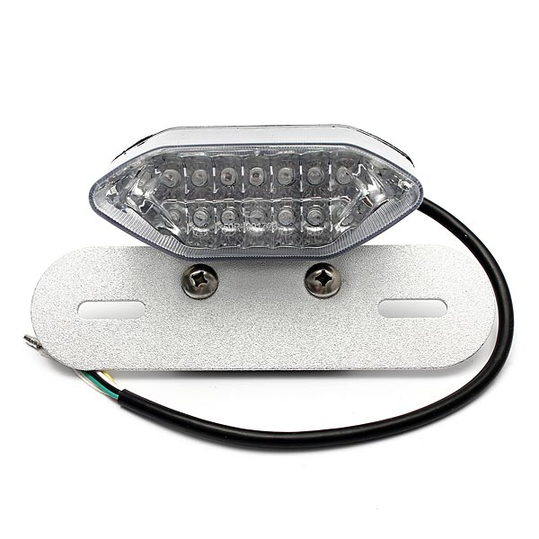 12V White Color Motorcycle 20LED Turn Signal Brake License Light