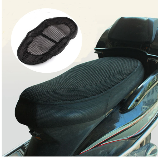 Motorbike Scooter Anti-slip Breathable Mesh Seat Saddle Cover XL