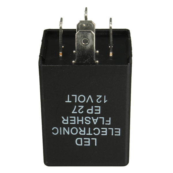 12V 5-PIN EP27 LED Flasher Relay For Turn Signal Decoder Load Eq