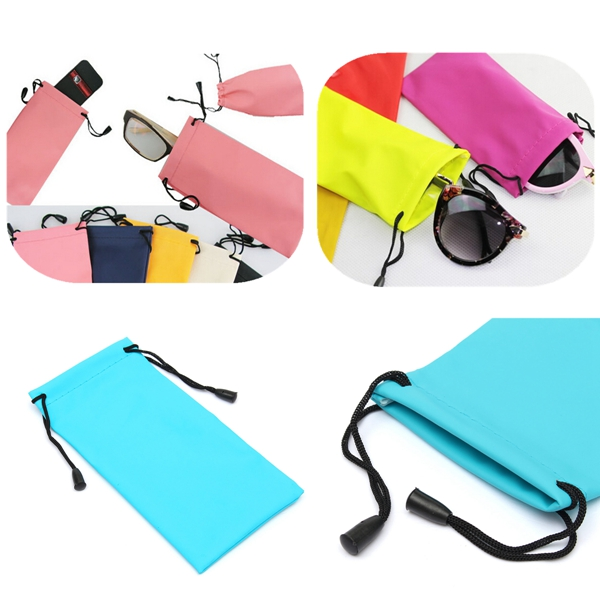 Dust Waterproof Plastic Sunglasses Pouches Bag For Glasses Mp3 P