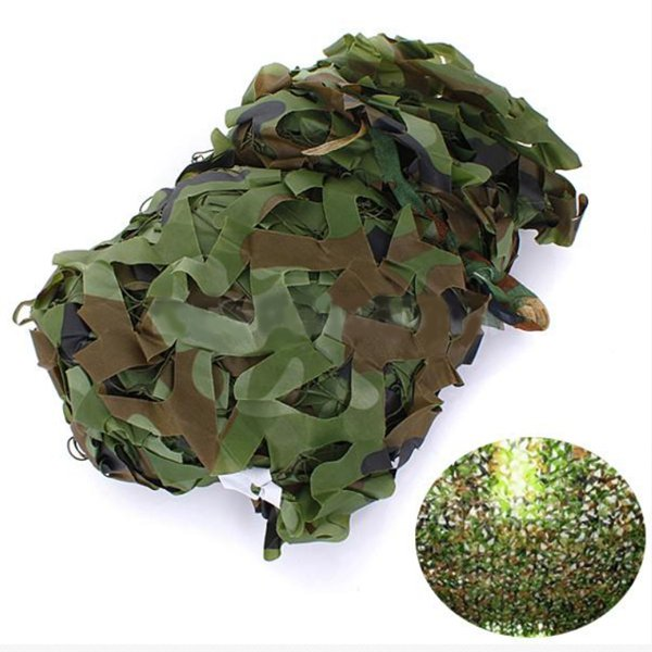 2X1.5m Woodland Camouflage Camo Net For Camping Military Photogr