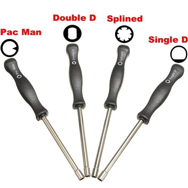 4pcs Carburetor Tool Trimmer Lawnmowers Screwdriver Kit For Zama