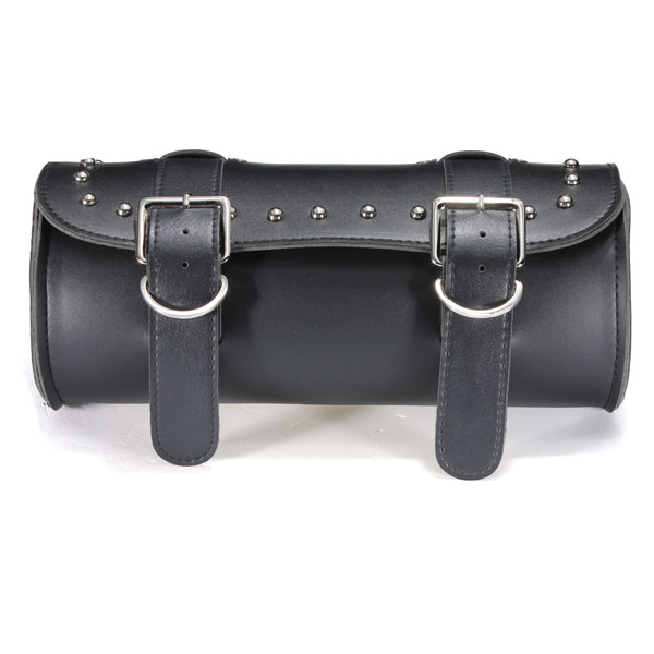 Motorcycle Scooter Tool Bag Saddlebag Leather Storage