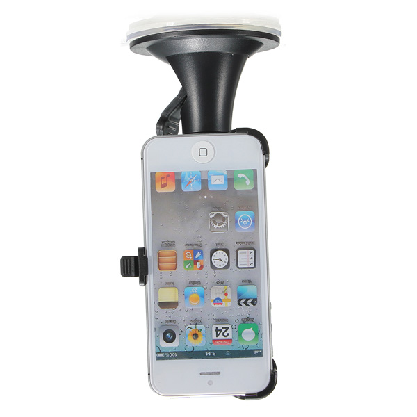 180 Degree Car Windshield Mount Bracket Holder Suction Cup for i