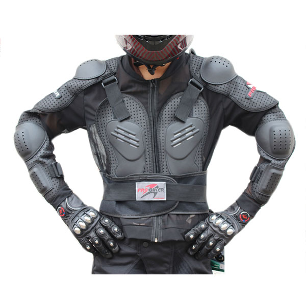 Motorcycle Auto Back Armor Protection Jacket Body Gears for PRO-