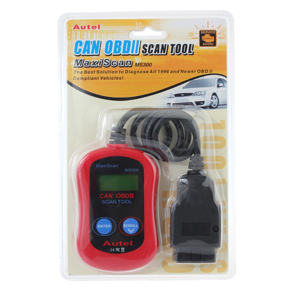 12V MS309 OBD2 Code Reader Multifunction Auto Decoders