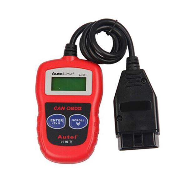 Autel Automatic Link AL301 OBDII CAN Auto Diagnostic Code Reader