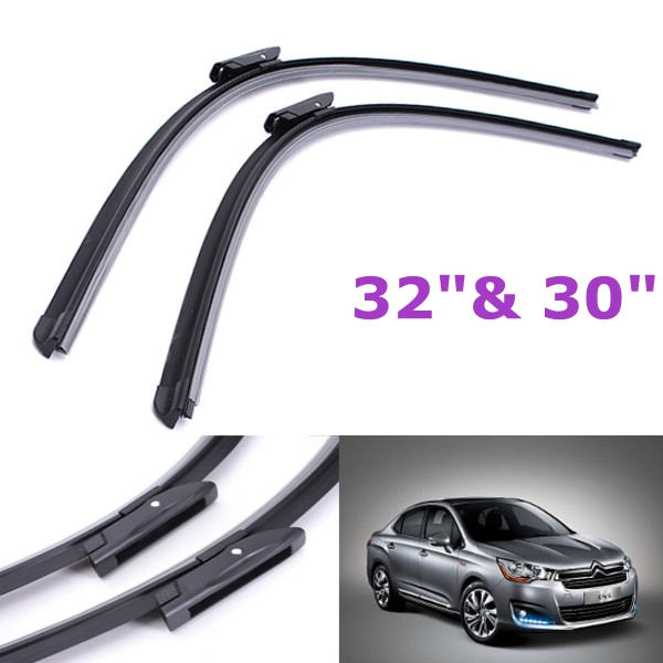 1 Pair Front Wiper Blades For Citroen C4 Grand Picasso 2009-Onwa