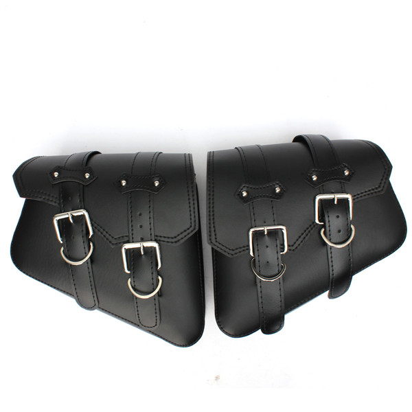 A Pair Universal Motorcycle Saddlebags Saddle Bags Pouch For Har