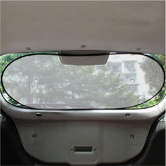 100x50cm Car Rear Window Sunshade Sun Shade Cover Visor Shield S