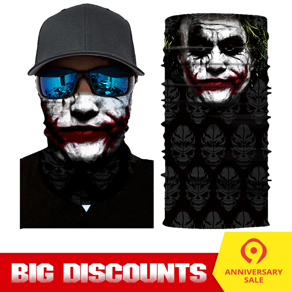 Mask Face Shield Balaclava Mask Skull Face Masks Ghost Cycling S