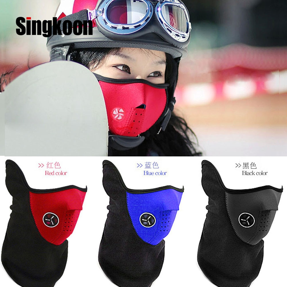 Motorcycle Face Mask Moto Helmet Bandana Hood Ski Neck Full Face