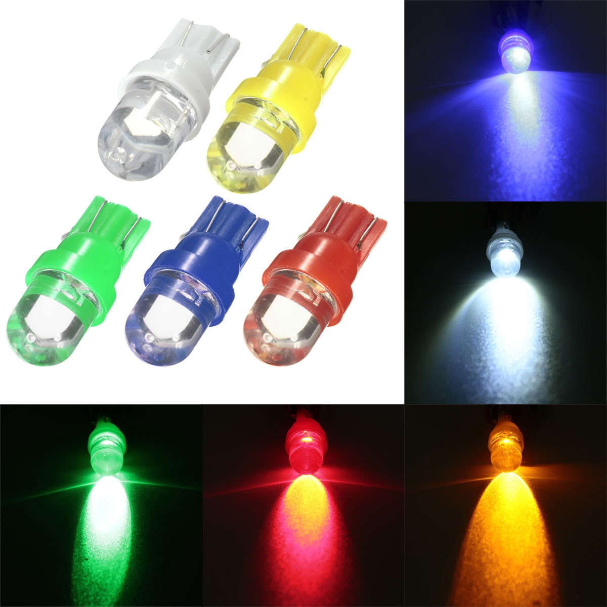 12V T10 W5W 501 LED Car Signal Turning Side Lights Indicator Bul