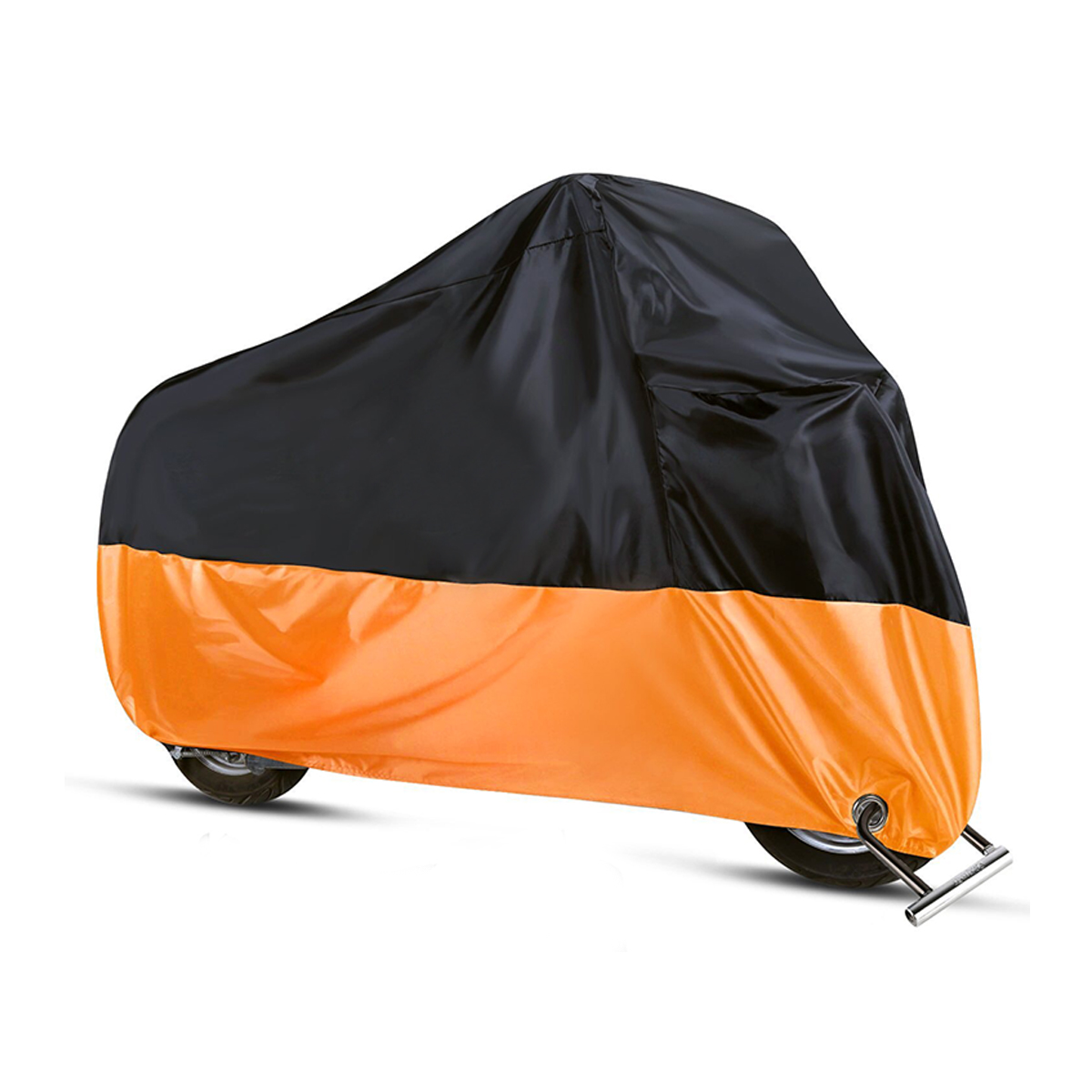 190T Motorcycle Cover Waterproof Outdoor Rain Dust UV Scooter Or