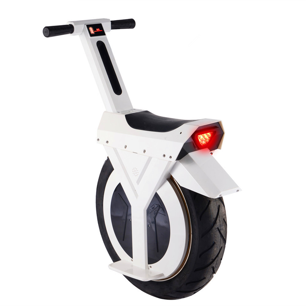 17 Inch One Wheel Motorcycle Waterproof 500W Self-Balancing Elec