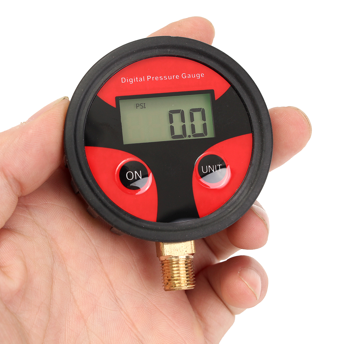 0-200PSI Car Truck Bike Auto Car Tyre Tire Air Pressure Gauge Di