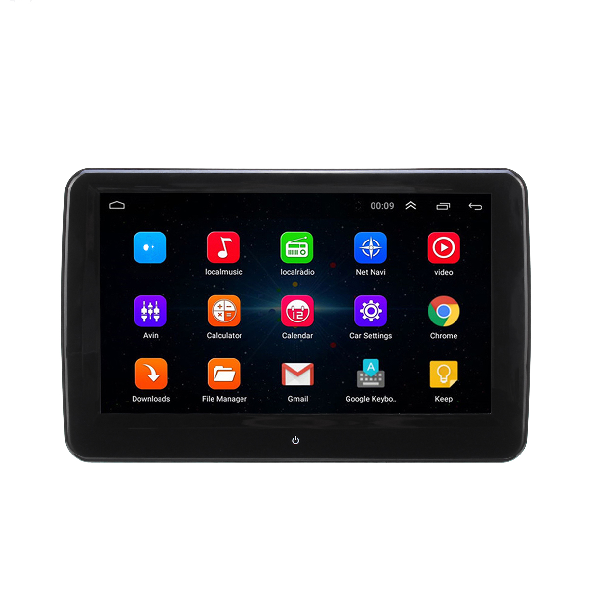 10.1 Inch Android 7.0 4K FHD Touch bluetooth FM WIFI Car Stereo