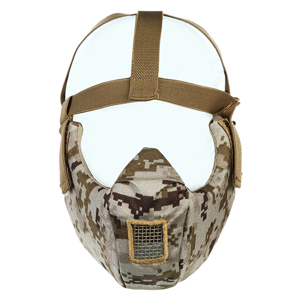 700FPS Shock Resistance CS Wargame Mask Tactical Airsoft Camoufl