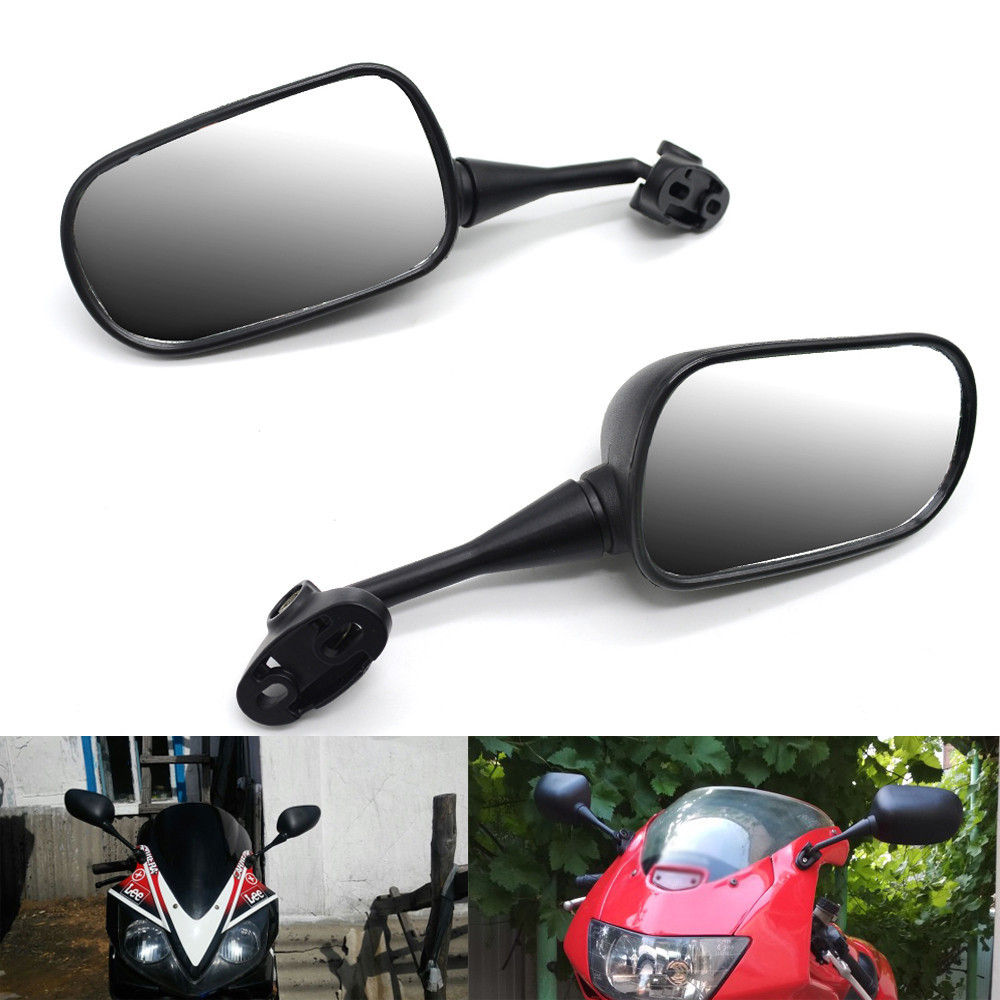 18mm Motorcycle Rearview Mirrors Back Side Mirrors For HONDA CBR