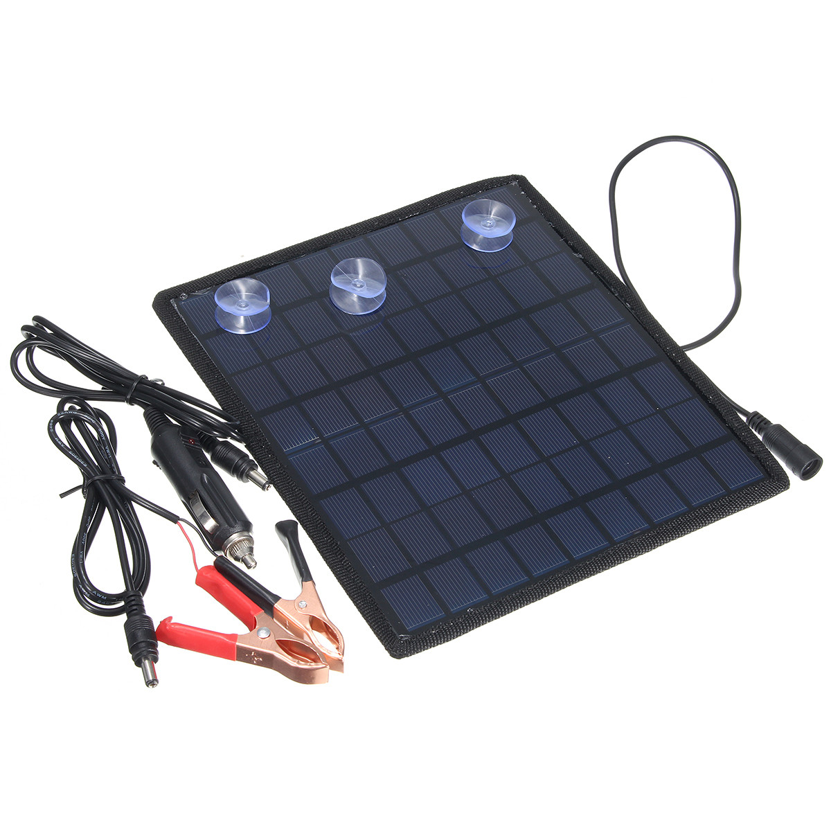 18V 5.5W Portable Solar Panel Power Battery Charger for Car Boat