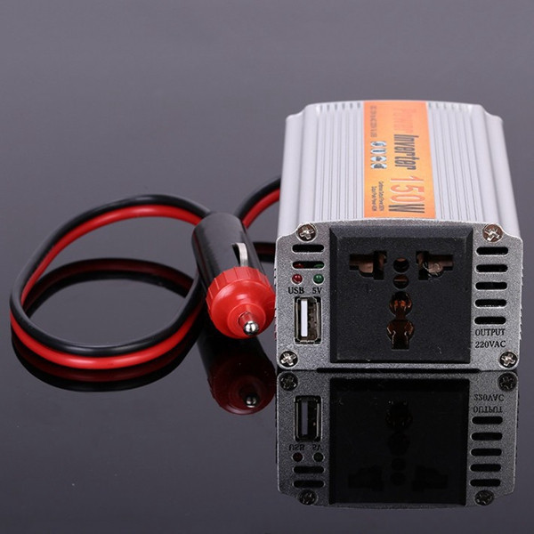 SGR-NX1512 150W Car Power Inverter Power Supply Adapater DC 12V