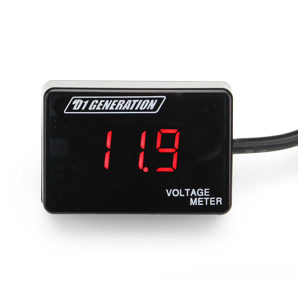 Mini DC 12V Car LED Light Digital Voltage Gauge Volt Meter Displ