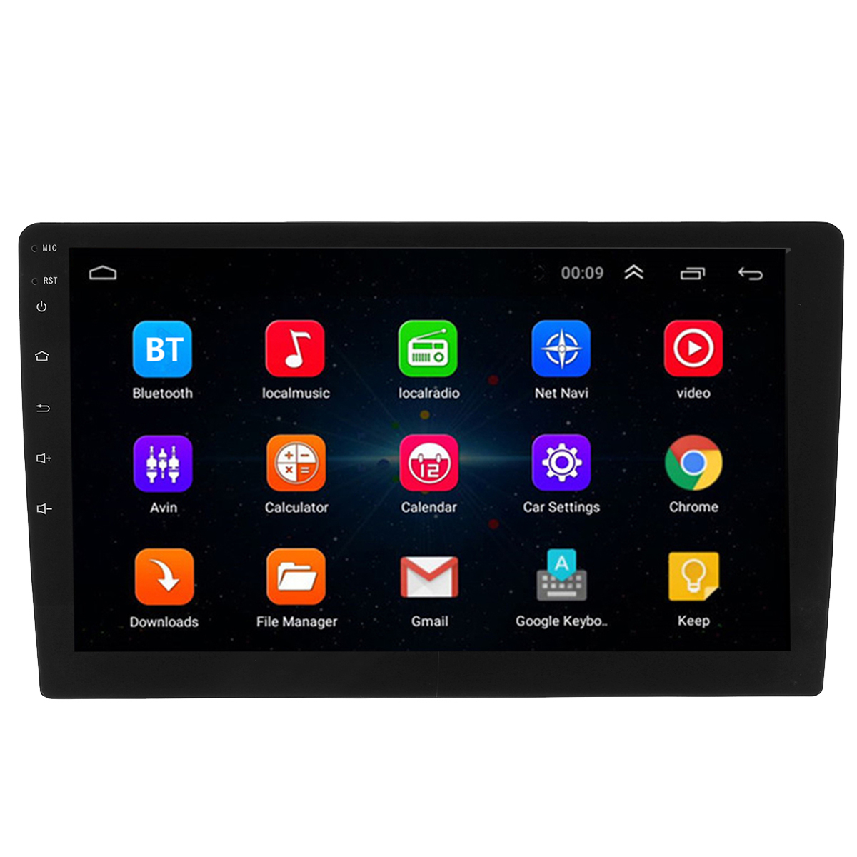 10.1 Inch 2 DIN for Android 8.0 Car Stereo Radio Quad Core 1+32G