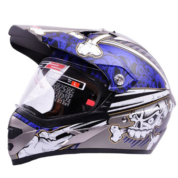 Motorcycle Classic Full Face International Version Helmets for L
