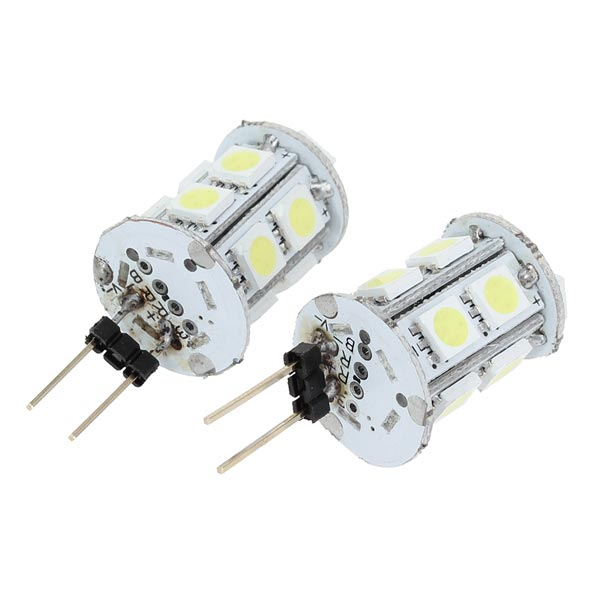 DC12V 3W G4 Base 13 SMD 5050 LED Warm White Light Bulbs