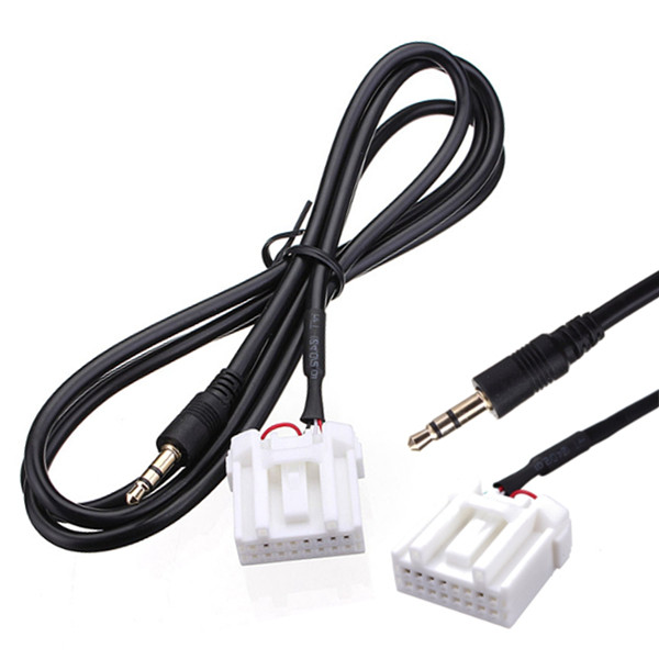 3.5mm Mini Jack AUX Audio MP3 Player Input Cable Adapter For Maz