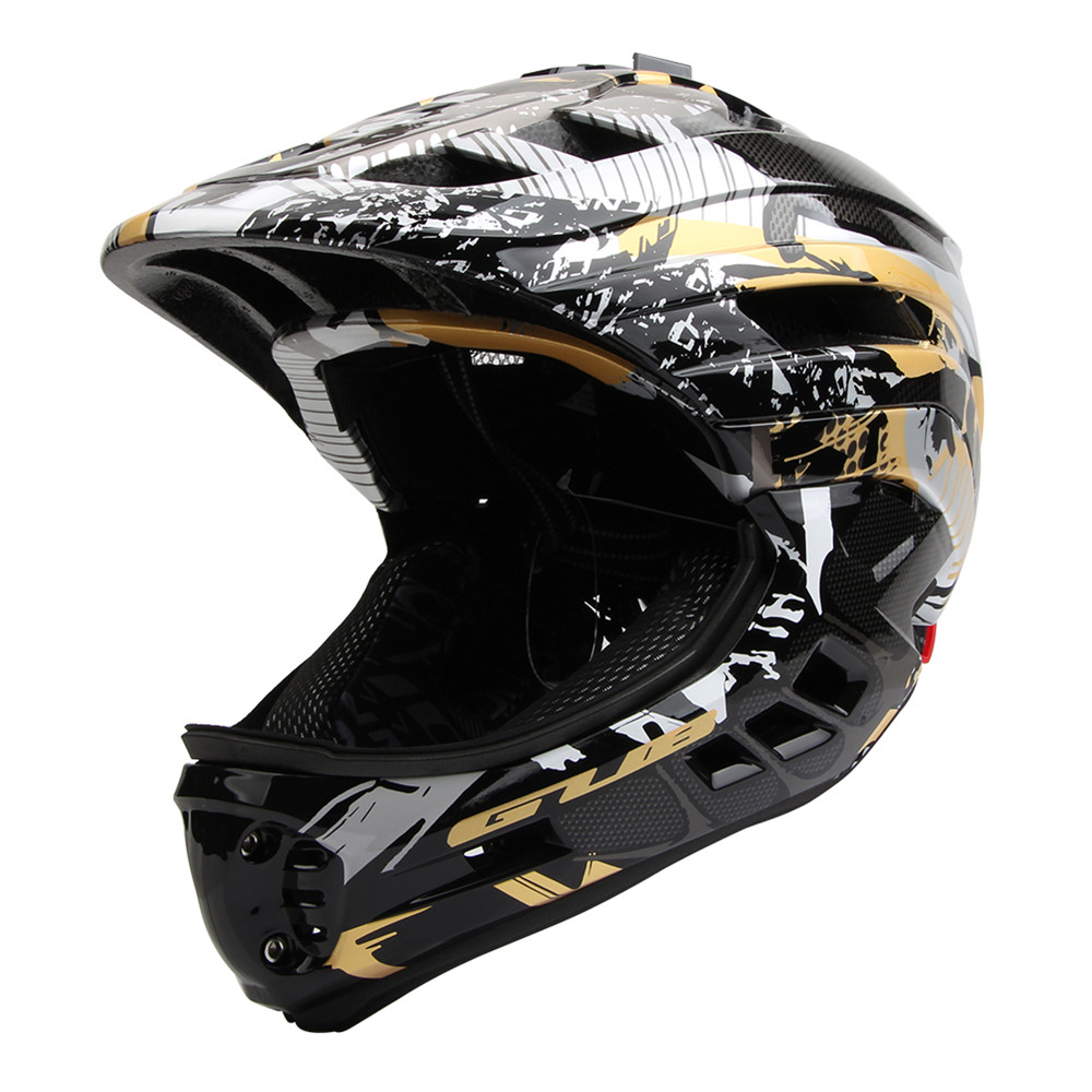 Children Cycling PRO Full Face Helmet Removable Breathable Scoot