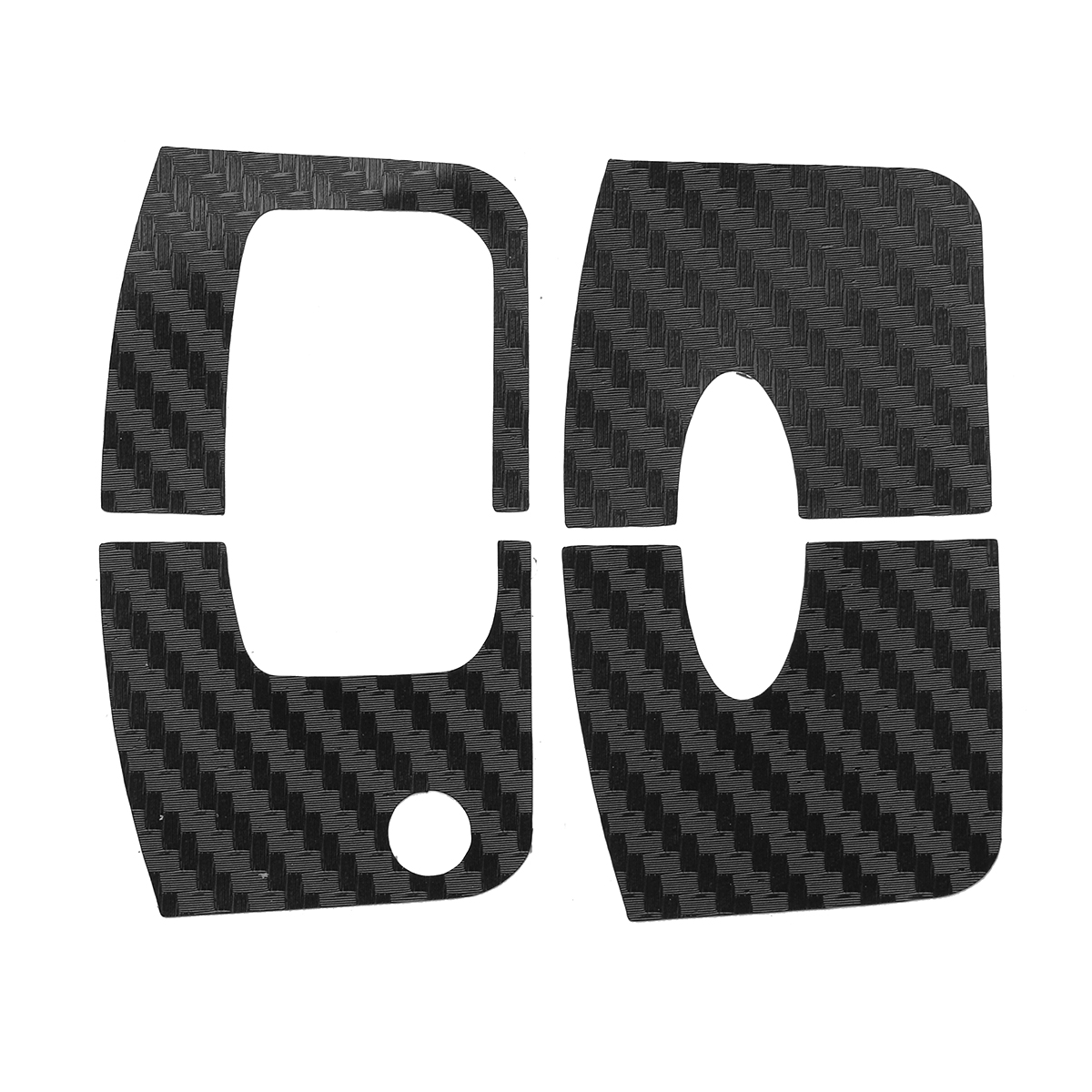 1 Pair Car Key Stickers For Ford /Focus 2 3 2009-2012 / Fiesta E