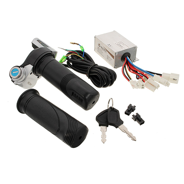 24V 250W Motorcycle Brush Speed Controller & Scooter Throttle Tw