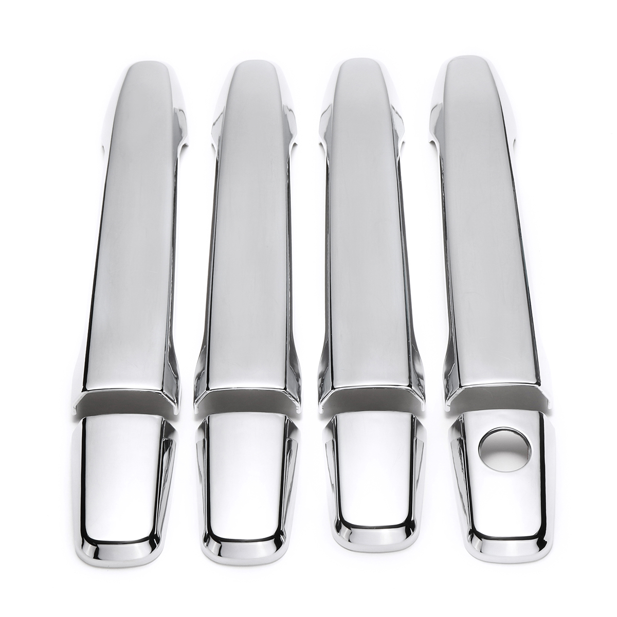 8pcs Set ABS Chrome 4 Door Handles Covers For Mitsubishi Outland
