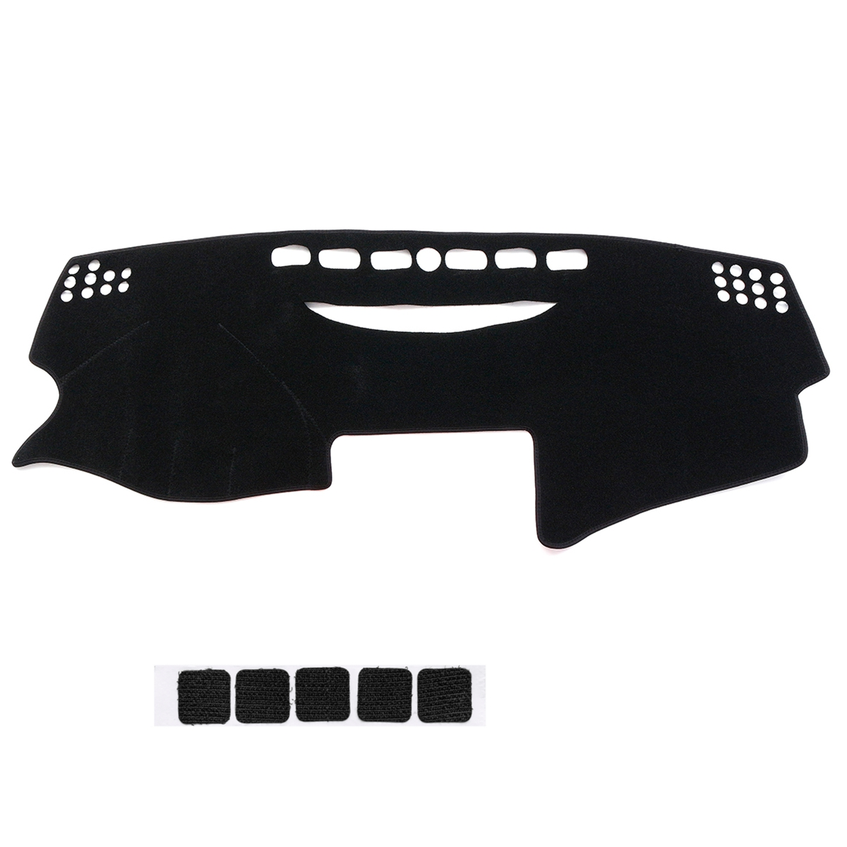 Black Left Hand Non-Slip Car Dash Mat Dashboard Cover Pad for To