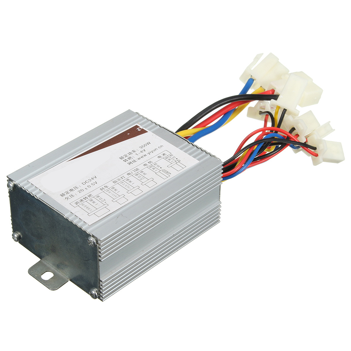 24V 350W Motor Brush Speed Controller For Electric Bike Bicycle