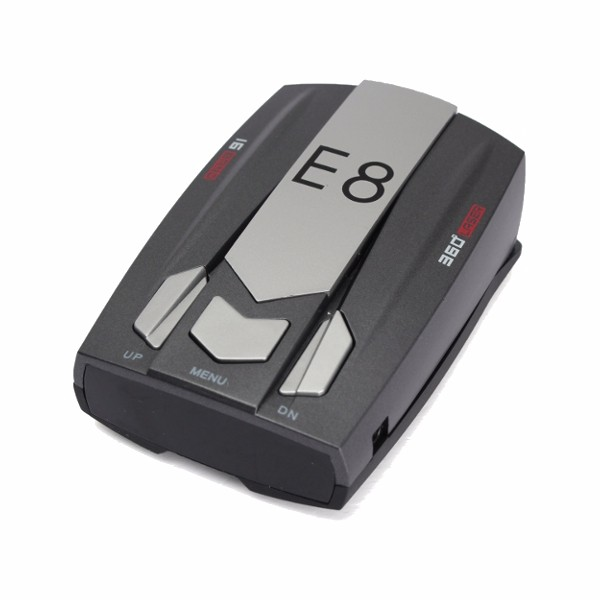 Full Band Scanning Voice Anti-Police LED GPS E8 Radar Detector X