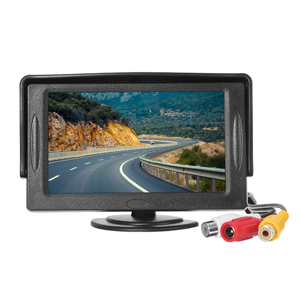4.3 inch TFT LCD HD Digital Monitor Color Screen For Car Rear Vi