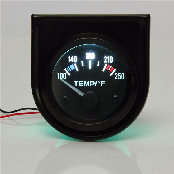 2 Inch 52mm 100-250 Degree F Car Auto Water Temperature Gauge Ba