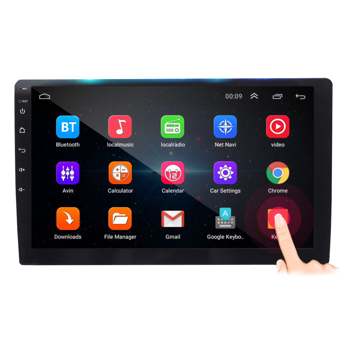 10.1Inch 2 DIN for Android 8.1 Car MP5 Player 1+16G Quard Core T