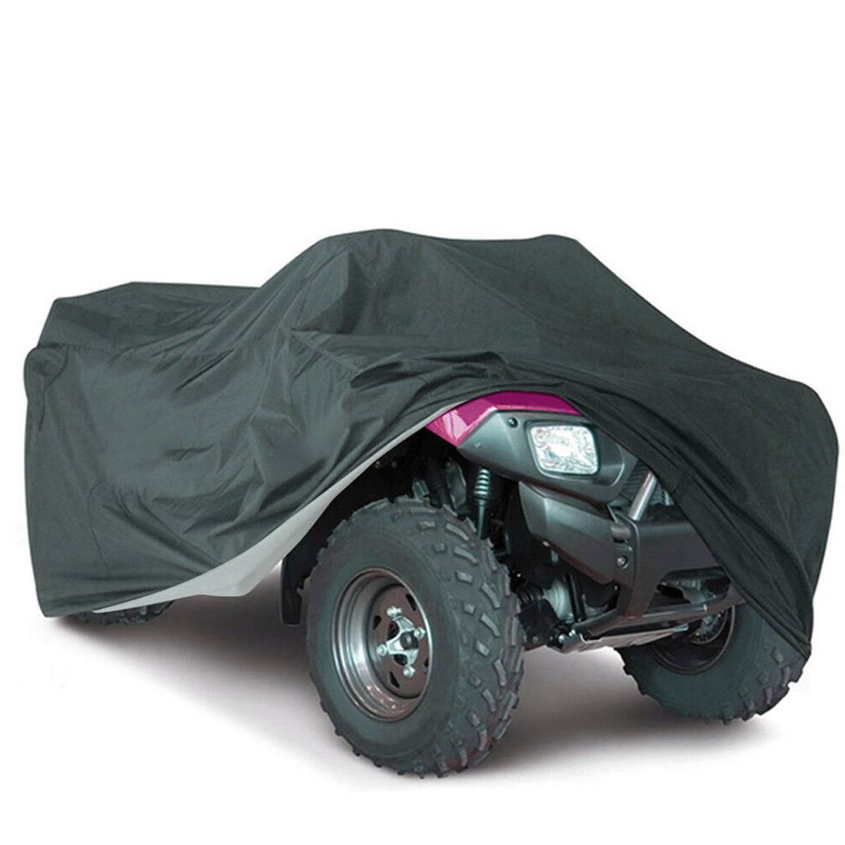 210T Waterproof Black Dustproof Cover ATV Quad Vehicle Scooter M