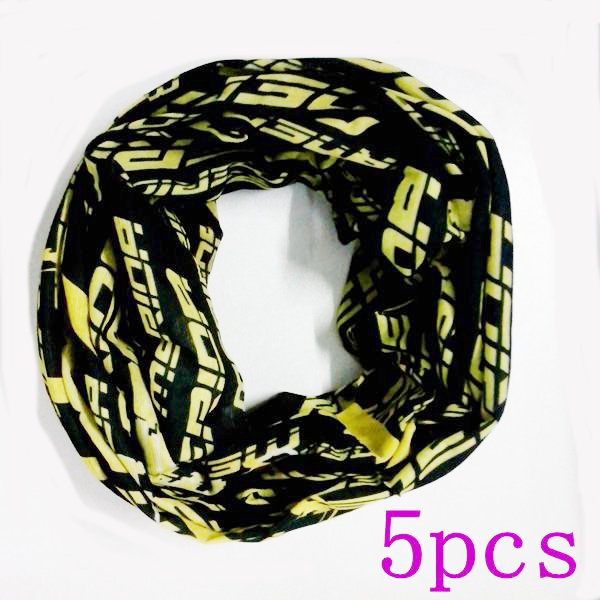 5pcs Seamless Multifunction Scarf Windproof Masks Motorcycle Hea
