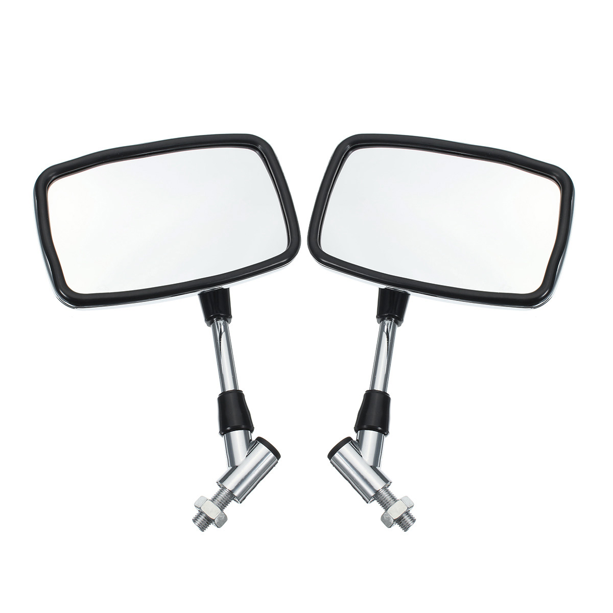 10mm Motorcycle Rear View Mirrors For Yamaha/Suzuki/Honda