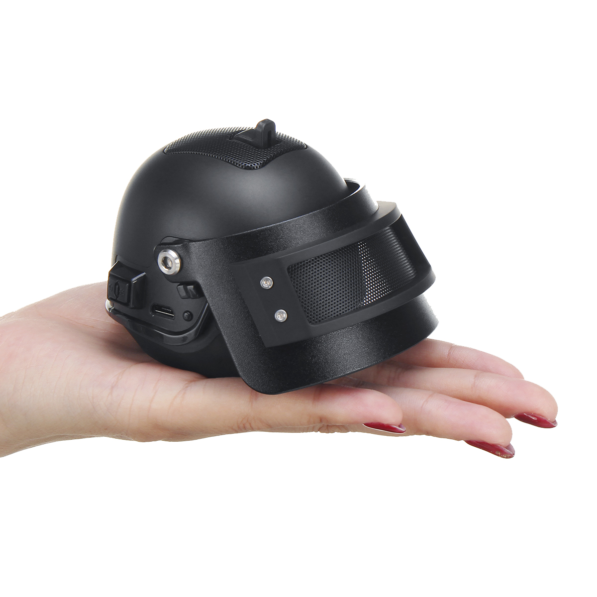 Portable Mini Helmet Wireless bluetooth Speaker Bass Stereo Subw