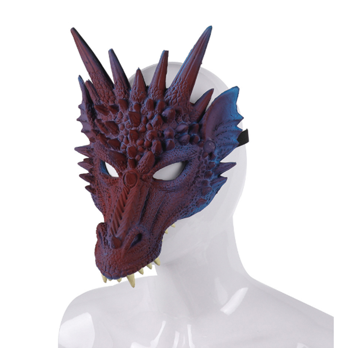 3D Animal Dragon Horror Mask Props Halloween Carnival Halloween