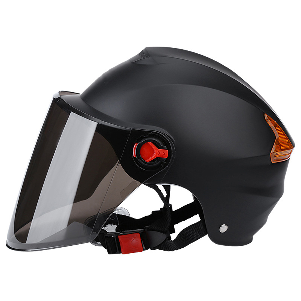 Riding Half Face Helmet Electric Scooter Motorcycle Bike Men Wom